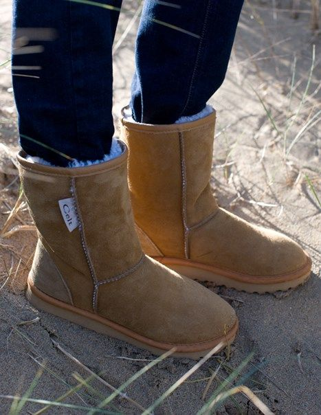 These are almost the official footwear of our company, with most of our trainers owning at least one pair! We wear these sheepskin boots in the rain, snow and cold to see us through the winter (and spring, summer and autumn too!)