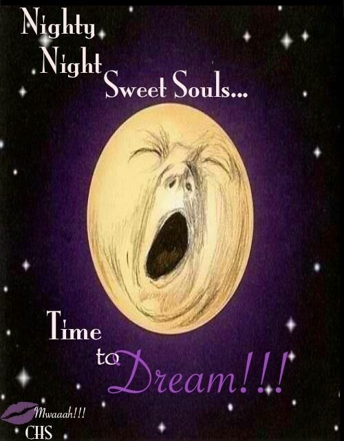 .Good night my sweet sisters.... May you wrap yourself in the warmth of Jesus's love. Sleep well. LY