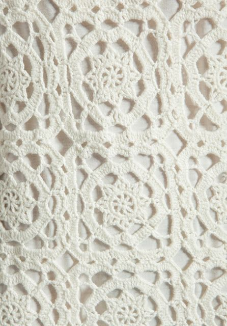 Crochet Patterns to Try: Free Chochet Pattern for Joie Elida Overlay Dress