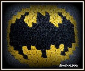 Batman Polster, c2c crochet, corner to corner crochet, c2c häkeln, häkeln, haken, batman, batman logo, geburtstagsgeschenk, polster häkeln, polster,