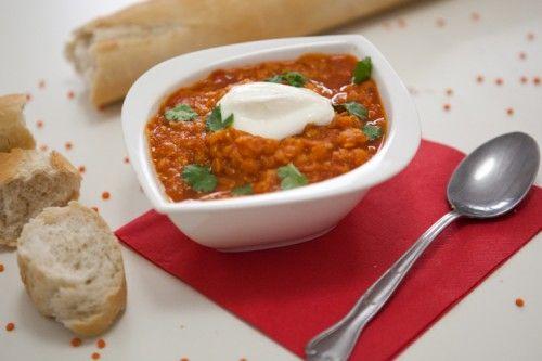 Red Lentils Soup