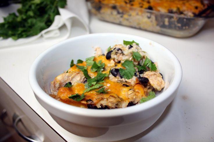 Chicken and black bean casserole | Fabulous food | Pinterest