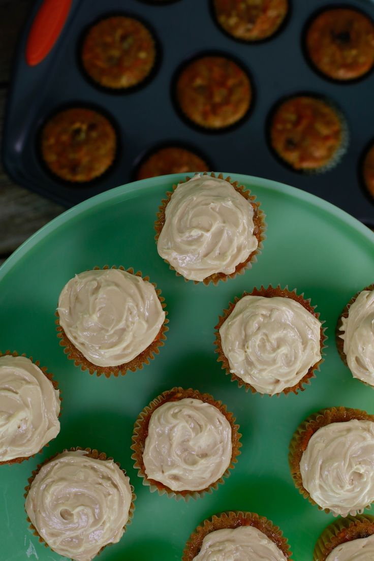 Curtis Stone Carrot Cake Cupcakes
