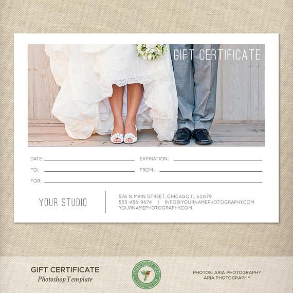 5x7 Digital or Print Gift Certificate Gift Card Photography