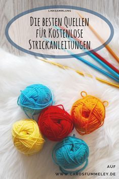 Where can I find knitting instructions for free? – Link list