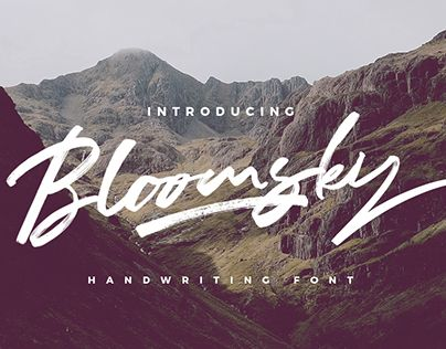 "Check out new work on my @Behance portfolio: ""Bloomsky"" http://be.net/gallery/57807185/Bloomsky"