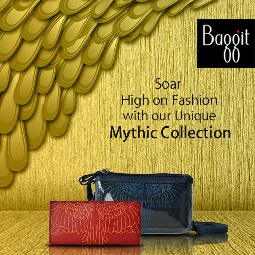 Baggit New Mythic Collection and add style to your outfits. Buy Now at: http://goo.gl/TVnl0O