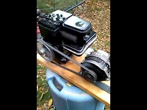 7 best my 12 volt dc lawn mower alternator generator home made 2hp briggs stratton engine alternator 12 volt dc generator gm cs130 alternator youtube this is publicscrutiny Gallery