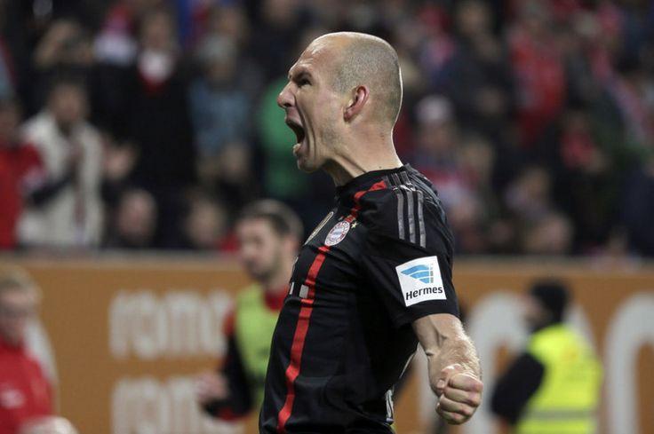 Arjen Robben , en declaraciones a 'Goal.com', mostró su satisfacción por haber dejado el Real Madrid y marcharse al Bayern de Múnich en