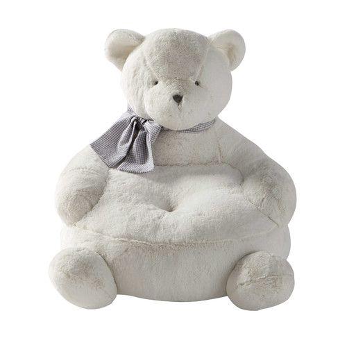 Gaspard child's bear armchair H 42 cm