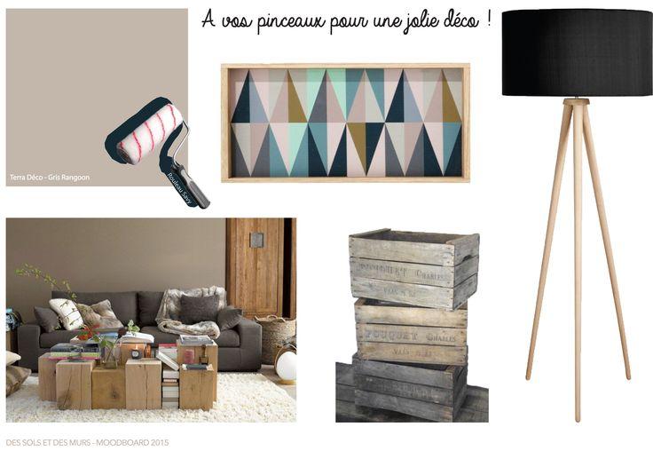 MOODBOARD DE LA SEMAINE. Idées, couleurs ou objets de décoration, tout se mêle pour vous présenter en photo notre produit de la semaine, la peinture Gris Rangoon. Faites entrer de la douceur et de la chaleur dans votre intérieur en ce début d'automne ! Plus d'informations : http://bit.ly/1MvgB8e http://bit.ly/1LifBjD