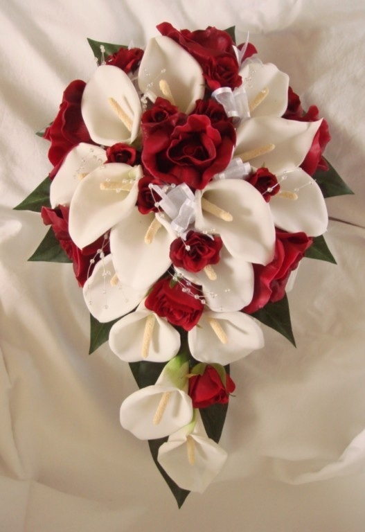 We Do All Packages For The Bride With Bridemaids Bouquets To Match Your Day Foam Flowerflower Petalsburgundy Weddingbride