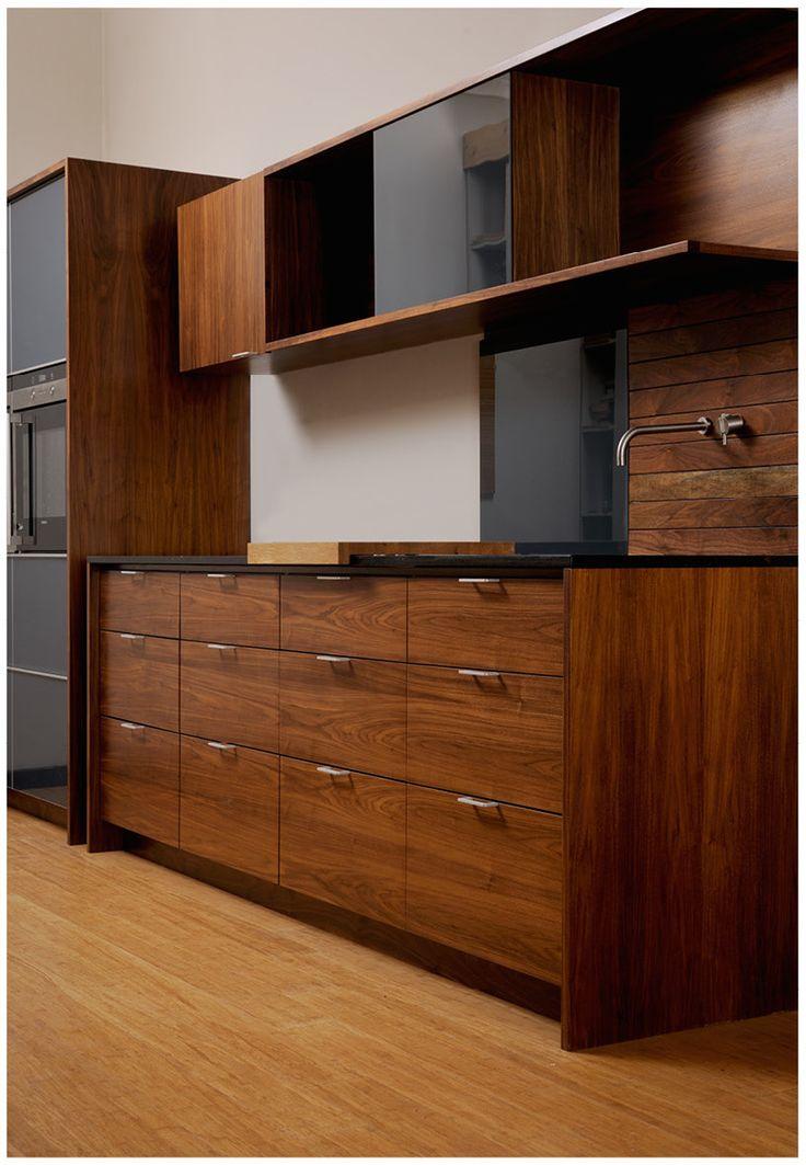 Wallnut kitchen by ADK Cabinetworks