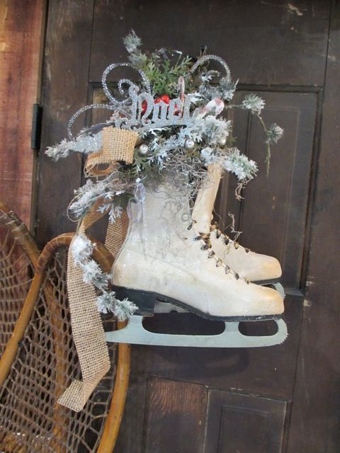 115 Best Images About Ice Skate Decor On Pinterest Ice