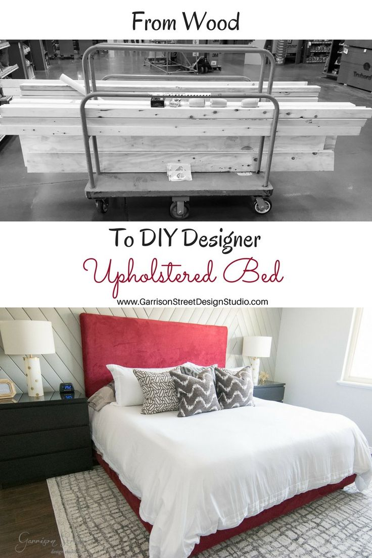 The Best of 2017 | Top 5 Posts | Garrison Street Design Studio | DIY Upholstered Bed