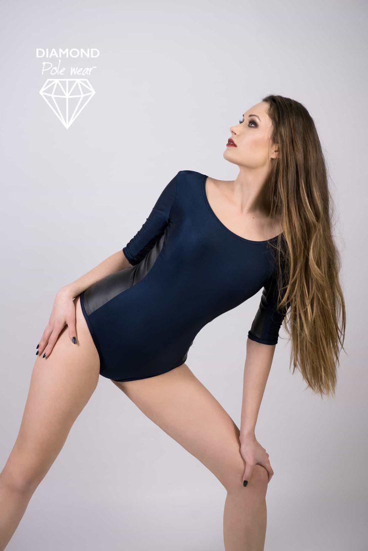 Stretchy, comfy and sexy Diamond pole wear bodysuit. Has grippy sides for you to do your best on a pole. Perfect for exotic pole dance, but also helpful for complex moves because gives you a great grip on the sides.A little bit shimmery for you to shine on pole and everywhere else :)We recommend you to check 'Size guide' below for choosing the correct size.