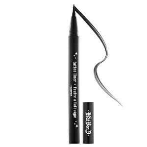 Kat Von D - Tattoo Liner in Trooper #sephora - heard this has a very small tip for the most precise of lining & it's a pen - I am horrible with the liquid liners and they are not the easiest to fix when messed up so....I'll give this a shot! :)