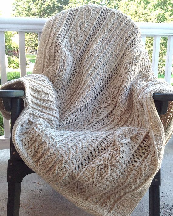 875 best CROCHET - ONE COLOR AFGHAN images on Pinterest | Crochet ...