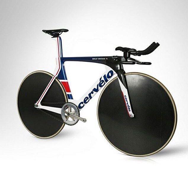 British Cycling and Cervelo design Rio 2016