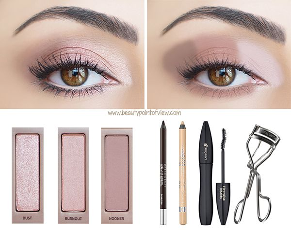 Naked 3 Eyeshadow Look