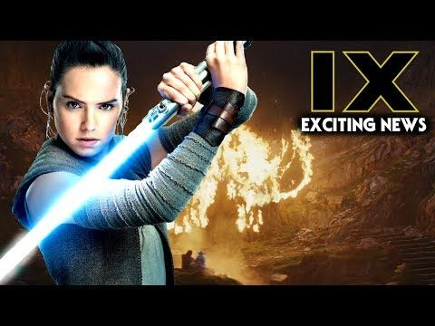 Spread the love - Compartir en Redes Sociales Star Wars Episode 9 Exciting News & Update! (Star Wars News) Lets go over some star wars news when it comes to star wars episode 9 and the production of the movie itself. This will be the