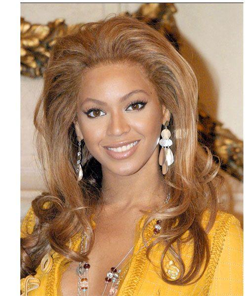 Beyonce Knowles Long Wavy Formal