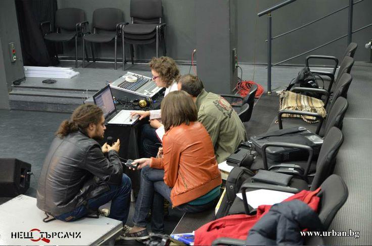 Backstage с Нещотърсачите.
