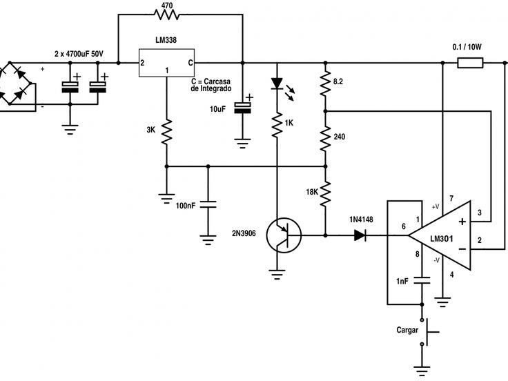 Cargador para baterías de 12V con corte automático - Taringa!