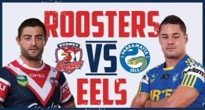 Eels vs Roosters NRL Live