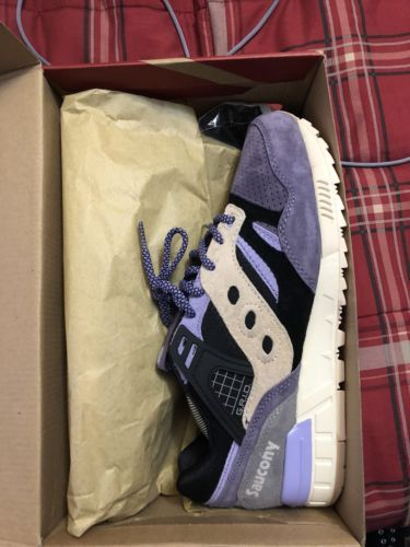 3028160a9bf2 Details about Saucony x Sneaker Freaker Grid SD Kushwacker Purple ...
