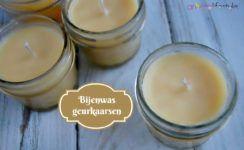 Bijenwas geurkaarsen, voor een heerlijke gezonde geur