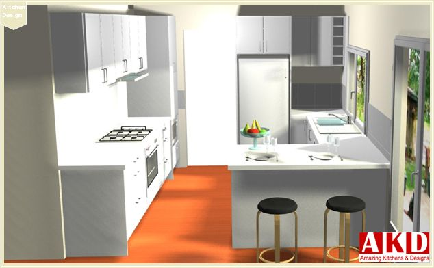 Best A Beautiful Classic White Kitchen Classic White Kitchen 400 x 300