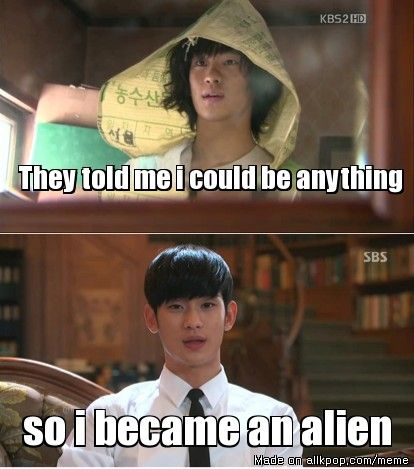 Kim Soohyun. Again, he's an actor, but he's just too dang attractive. I really need a board for attractive actors. By the way, the top picture is from the drama Dream High and the bottom from My Love From Another Star.
