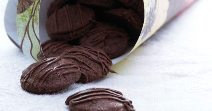 Sjokoladekjeks med marsipan
