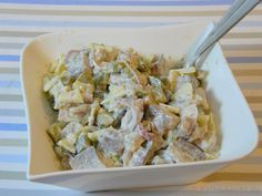 Klassischer Matjessalat mit Pellkartoffeln - Katha-kocht!
