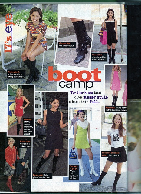 Many MANY pages out of the August 1996 issue of Seventeen magazine scanned for your enjoyment.