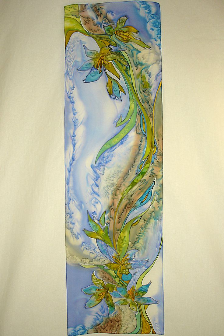 Image detail for -... Hand Painted Silk Scarves for a Great Office Look | Silk Scarves Blog