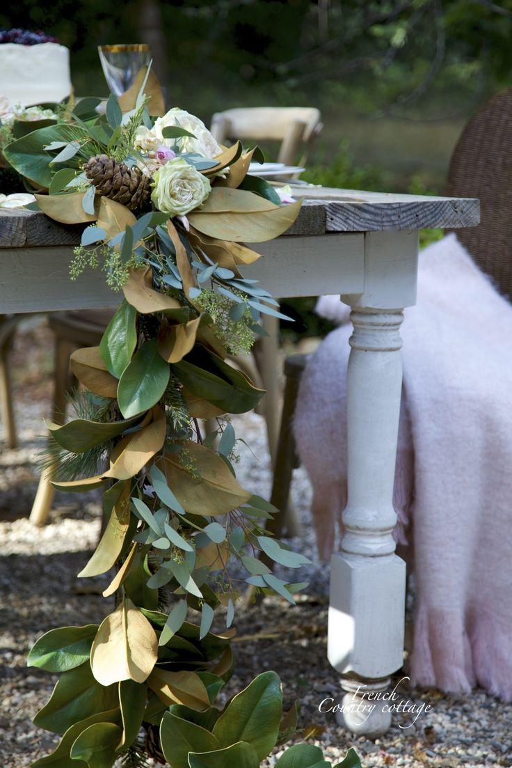 Best ideas about magnolia centerpiece on pinterest