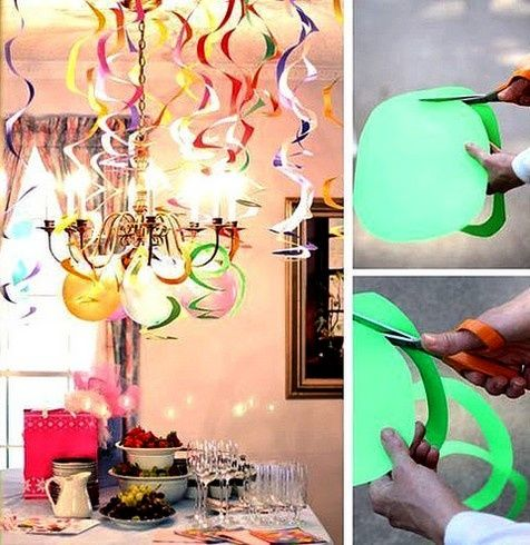 partay streamers.