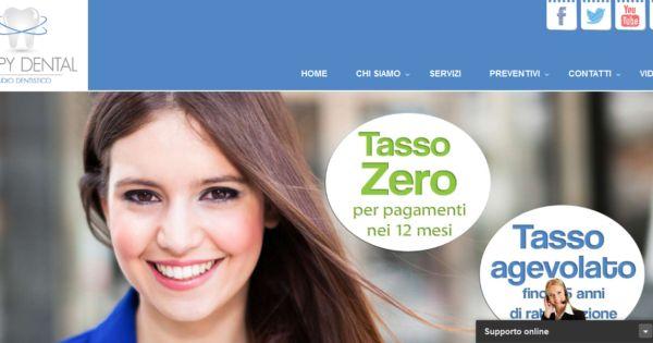 Realizzazione siti web: Studio Dentistico Teramo  http://www.lelcomunicazione.it/blog/realizzazione-siti-web-studio-dentistico-teramo/