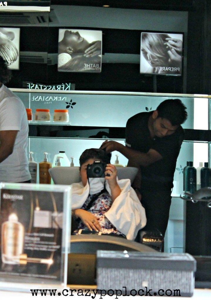 TONI SALON, KERASTASE, hair, salon, pamper time