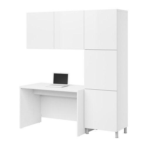 best desk combination ikea adjustable feet stands steady also on an uneven floor panel