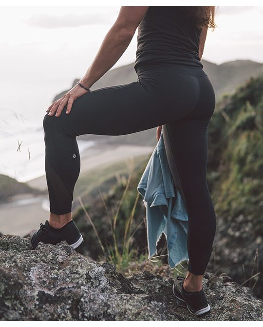 The Inspire Tight. For the wanderers, the adventurers, and the love of sweaty pu...