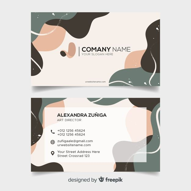 Download Abstract Business Card Template For Free Graphic Design Business Card Business Card Design Business Cards Layout