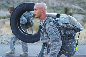 Army tire ruck