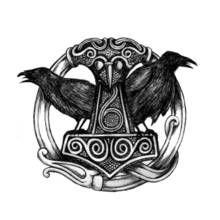 Les 25 meilleures id es de la cat gorie tatouage - Dieu nordique 4 lettres ...