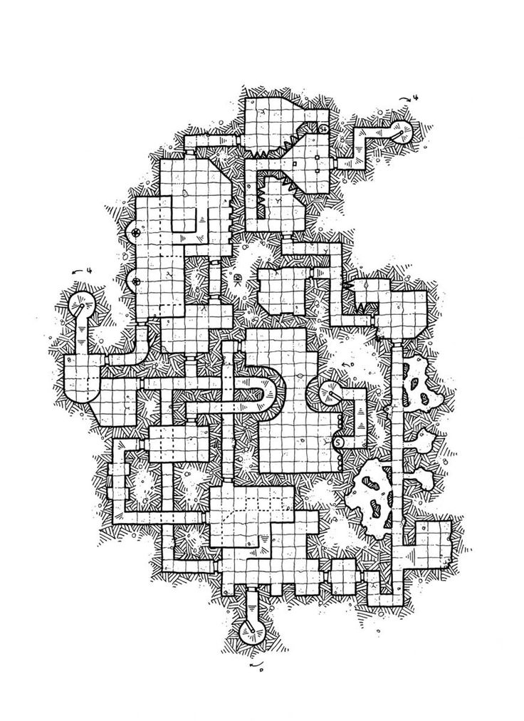 Hey! I've jsut published the 40th level for the #ModularDungeon. Read More on Patreon. https://www.patreon.com/posts/12116797 #rpg #map #cartography #dnd #jdr
