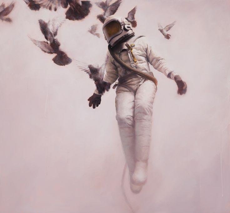 Les peintures de cosmonautes de Jeremy Geddes  Jeremy Geddes est un peintre australien originaire de Melbourne. L'article du jour présente la série de peintures qu'il a réalisé sur les cosmonautes. Ces dernières sont impressionnantes de réalisme. La technique utilisée est l'huile sur toile. N'hésitez pas à faire un tour sur son portfolio pour en découvrir davantage.