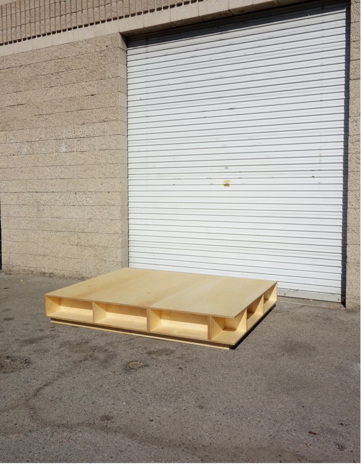 """Low Rider Couch Baltic Birch plywood Oak dowels """" For a private residence """""""
