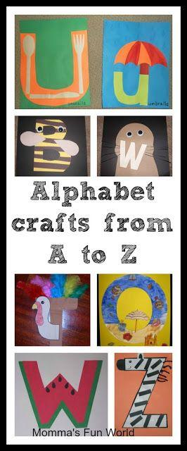Teken/schilder/knutsel een letter van het alfabet. Wat je maakt, begint met die letter.
